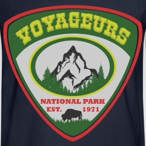 VOYAGEURS NATIONAL PARK EST.1971,NATIONAL PARK ,ES - Men's Long Sleeve T-Shirt