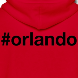 ORLANDO - Unisex Fleece Zip Hoodie by American Apparel