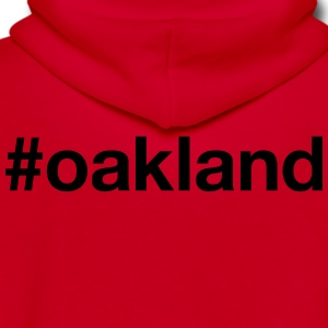 OAKLAND - Unisex Fleece Zip Hoodie by American Apparel