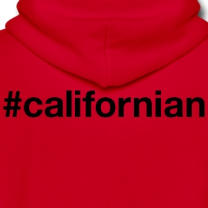 CALIFORNIA - Unisex Fleece Zip Hoodie by American Apparel