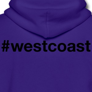 WEST COAST - Unisex Fleece Zip Hoodie by American Apparel
