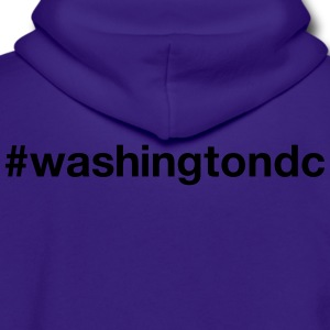 WASHINGTON D.C. - Unisex Fleece Zip Hoodie by American Apparel
