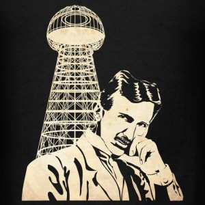 Nikola Tesla Long Sleeve Shirts - Men's T-Shirt