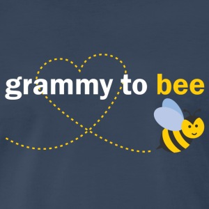 Grammy To Bee Long Sleeve Shirts - Men's Premium T-Shirt