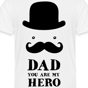 Father's Day: Dad - You are my Hero Kids' Shirts - Toddler Premium T-Shirt
