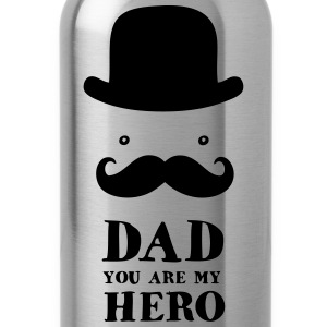 Father's Day: Dad - You are my Hero Baby Bodysuits - Water Bottle
