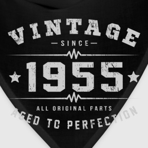 Vintage 1955 Aged To Perfection T-Shirts - Bandana