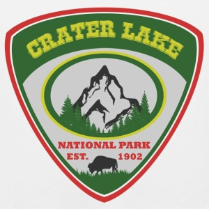 crater lake 1902.png T-Shirts - Men's Premium Tank