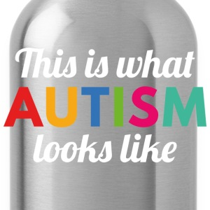 Autism Looks Like - Water Bottle