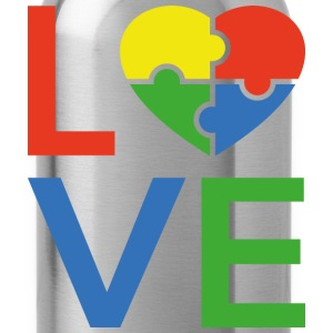 Autism Love - Water Bottle