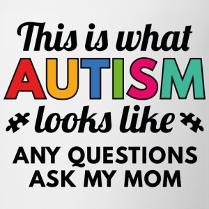 Autism Looks Like - Coffee/Tea Mug