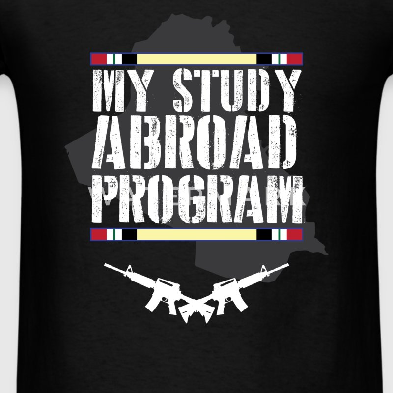 Iraq veteran - My study abroad program - Men's T-Shirt