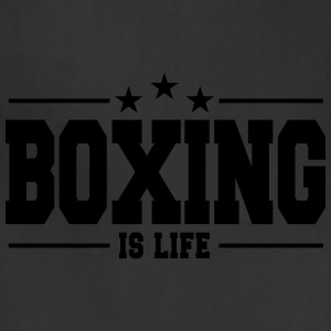 boxing is life 1 T-Shirts - Adjustable Apron