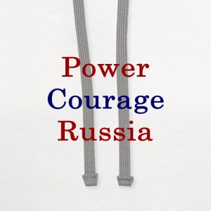 power_courage_russia_ T-Shirts - Contrast Hoodie