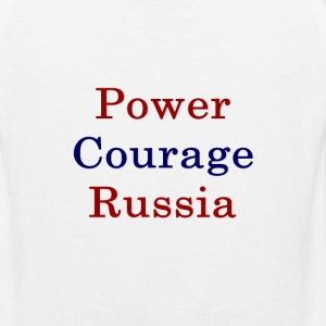 power_courage_russia_ T-Shirts - Men's Premium Tank