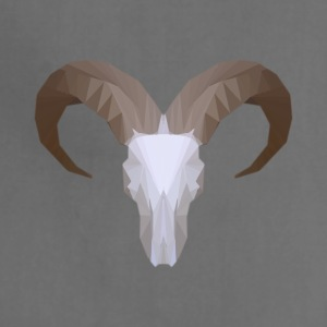 Low Poly Aoudad Skull - Adjustable Apron