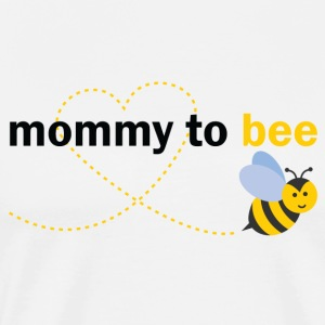 Mommy To Bee Long Sleeve Shirts - Men's Premium T-Shirt