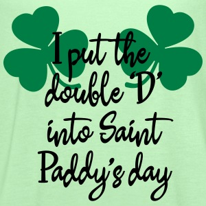 I put the double 'D' into Saint Paddy's day T-Shirts - Women's Flowy Tank Top by Bella