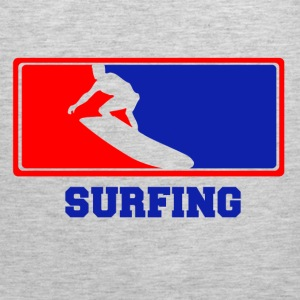 surfing5623.png T-Shirts - Men's Premium Tank