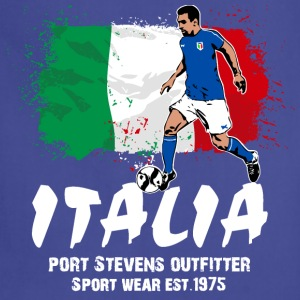 Italy Soccer Hoodies - Adjustable Apron