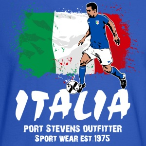 Italy Soccer Hoodies - Men's Long Sleeve T-Shirt