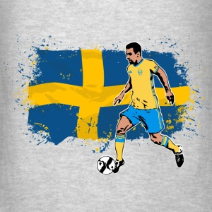 Sweden Soccer Hoodies - Men's T-Shirt