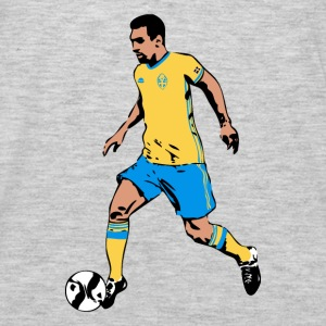 Sweden Soccer  Hoodies - Men's Premium Long Sleeve T-Shirt