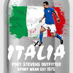 Italy Soccer T-Shirts - Water Bottle