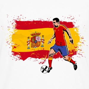 Spain Soccer T-Shirts - Men's Premium Long Sleeve T-Shirt