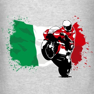 MotoGP - Superbike - Italy Flag Hoodies - Men's T-Shirt
