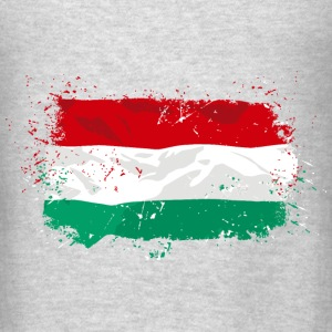 Hungary Flag Hoodies - Men's T-Shirt