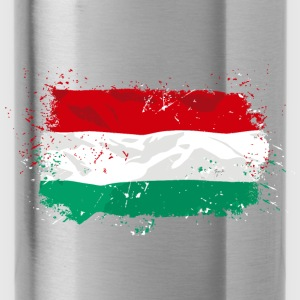 Hungary Flag Hoodies - Water Bottle
