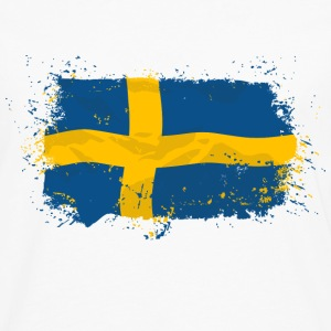 Sweden Flag T-Shirts - Men's Premium Long Sleeve T-Shirt