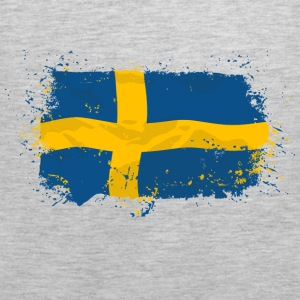 Sweden Flag Hoodies - Men's Premium Tank