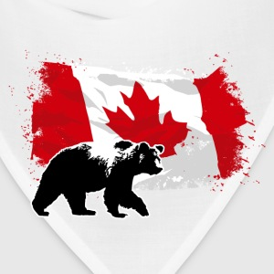 Canada  - Bear & Flag Hoodies - Bandana