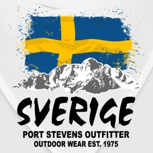 Sweden - Mountains & Flag Hoodies - Bandana