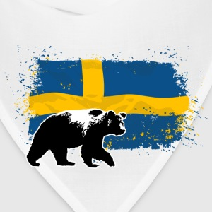 Sweden - Bear & Flag Hoodies - Bandana