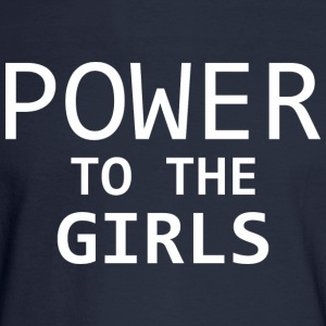 Power To The Girls - Men's Long Sleeve T-Shirt