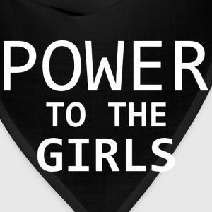 Power To The Girls - Bandana