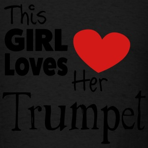 This Girl Loves Her Trumpet - Men's T-Shirt