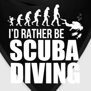 Scuba Diving - I'd rather be scuba diving - Bandana