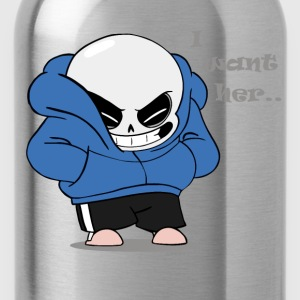 sans - i want her - Water Bottle