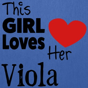 This Girl Loves Her Viola - Tote Bag