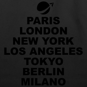 Paris London NewYork.. T-Shirts - Eco-Friendly Cotton Tote