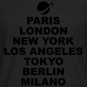 Paris London NewYork.. T-Shirts - Men's Premium Long Sleeve T-Shirt