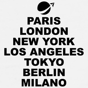 Paris London NewYork.. Accessories - Men's Premium T-Shirt