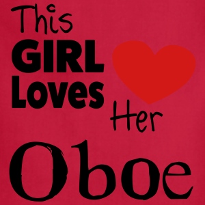 This Girl Loves Her Obo. Tank. - Adjustable Apron