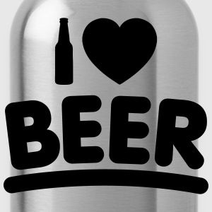 I ♥ BEER (1 Color) - Water Bottle