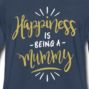 Happy Mummy Shirt - Men's Premium Long Sleeve T-Shirt