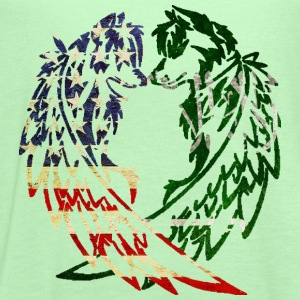 AMERICA SAUDI ARABIA WOLF T-Shirts - Women's Flowy Tank Top by Bella